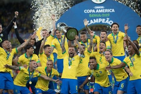 Hajar Peru, Brasil Juara Copa America 2019
