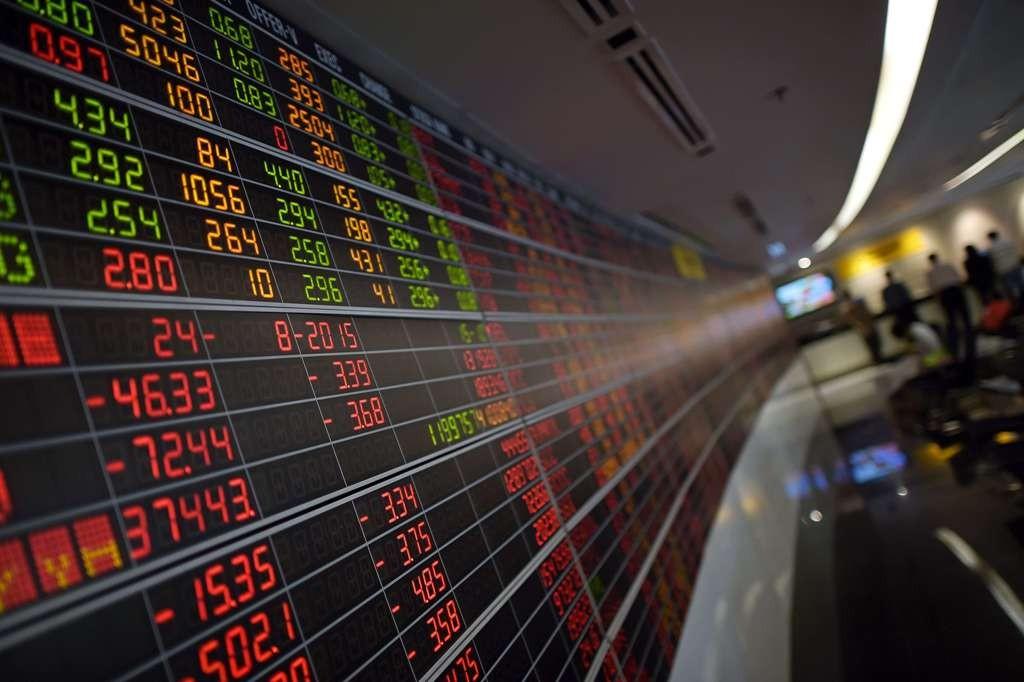 Bursa Saham Asia Rontok