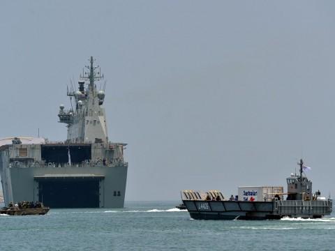 Australia Lacak Keberadaan Kapal Pengintai Tiongkok