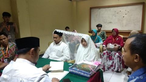 Tersangka Pengancam Jokowi Menikah di Rutan