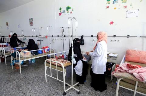 Wabah Kolera Jangkiti 200 Ribu Anak-Anak di Yaman