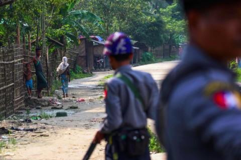 Myanmar Dakwa Empat Pemimpin Tentara Pemberontak Arakan