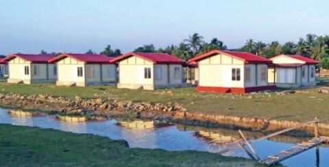 India Bangun 250 Rumah Baru di Rakhine
