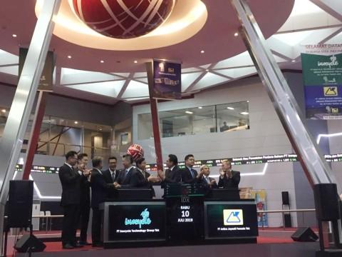 Perdana Melantai di Bursa, Harga Saham Dua Emiten Meroket