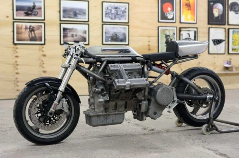 Motor Garapan Chris Barber ini, Cangkok Jantung Mekanis V6 Maserati
