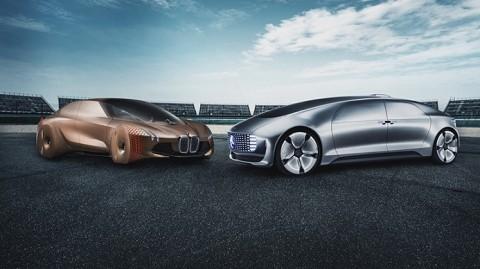 Demi Mobil Otonom, BMW dan Mercedes-Benz Lupakan Rivalitas