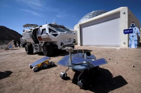 Tiongkok Bakal Kirimkan Rover ke Mars Pada 2020