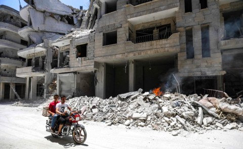Serangan Udara Suriah Hantam Rumah Sakit, 11 Warga Tewas