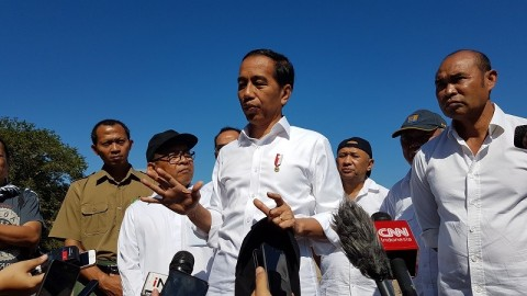 Jokowi Visits Komodo National Park