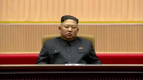 Kim Jong-un Terekam Tertidur saat Rapat Besar