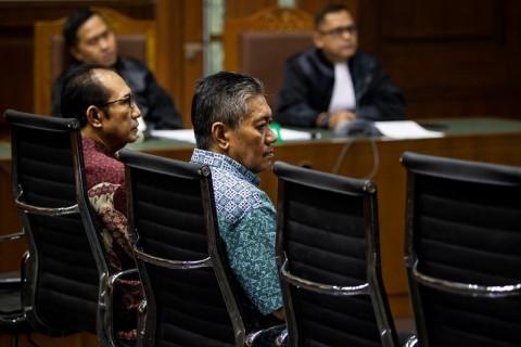 Dua Hakim Nonaktif PN Jaksel Divonis 4,5 Penjara