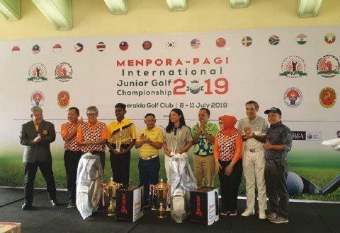 Pegolf Indonesia Berjaya di International Junior Championship 2019