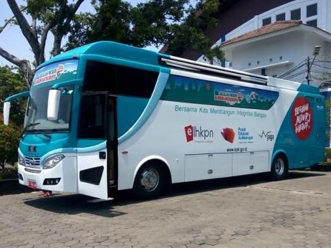 Bus KPK Safari Antikorupsi Seantero Jatim