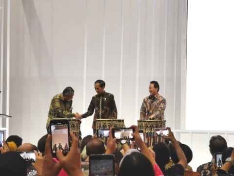 Jokowi Resmikan Karya Kreatif Indonesia 2019