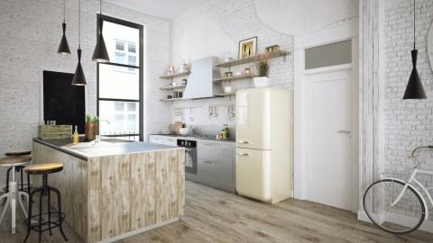 10 Ide Tampilan Retro untuk Mempercantik Dapur