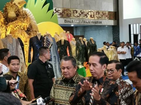 Jokowi Sebut Produk UMKM Binaan BI Sudah Naik Kelas