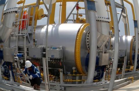 PGN Teken Jual Beli Gas dengan Talisman Sakakemang
