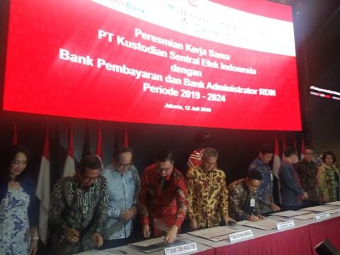 KSEI Tambah Jumlah Bank Pembayaran dan Bank RDN