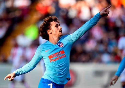 Antoine Griezmann Resmi Berseragam Barcelona