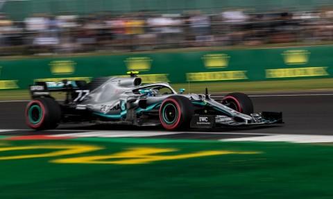 Duo Mercedes Dominasi FP2 GP Inggris