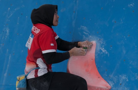 4 Atlet Indonesia Lolos ke Putaran Final Kejuaraan Dunia Panjat Tebing