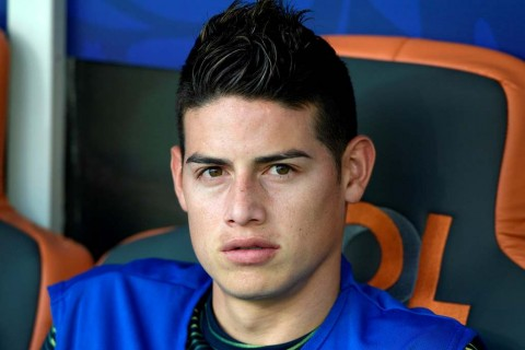 Presiden Napoli Bujuk Real Madrid Lepas James Rodriguez