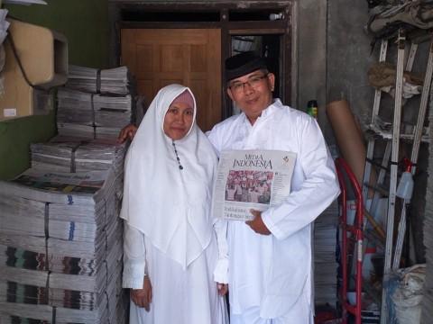Tukang Koran Menabung 14 Tahun Demi Berhaji