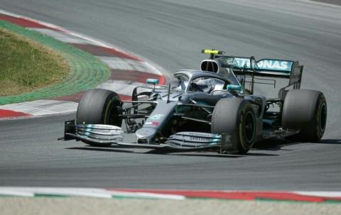 Valtteri Bottas Start Terdepan di F1GP Inggris