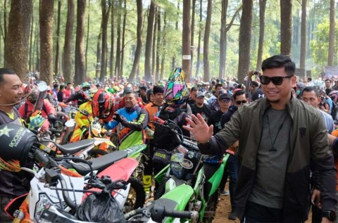 Ribuan Kroser, Beradu di Trail Adventure Beautifull Malino 2019