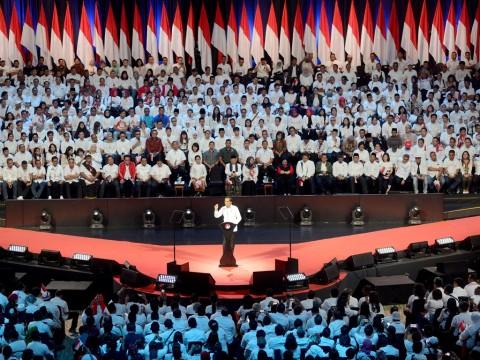 Jokowi: Indonesia Butuh Menteri Berani