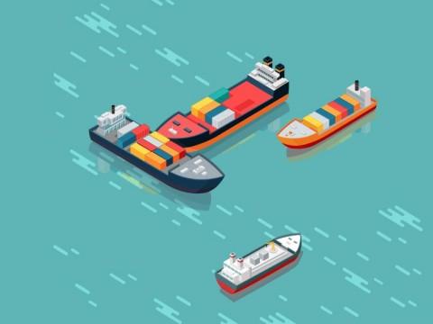 Satu Pekerja Terluka Akibat Jatuhnya Container Crane