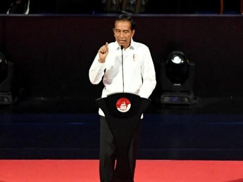 Pidato Jokowi Mendapat Dukungan Besar dari Warganet