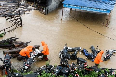 Korban Tewas Banjir Bandang di Nepal Jadi 65 Orang