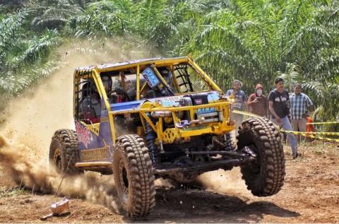 Gubernur Bengkulu Jajal Trek Offroad Versi Kejurnas