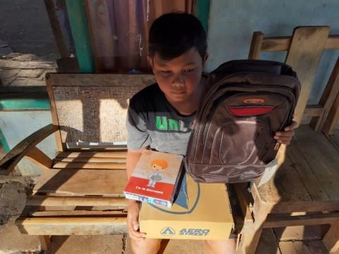 Anak Tak Mampu di Gunungkidul Akhirnya Sekolah
