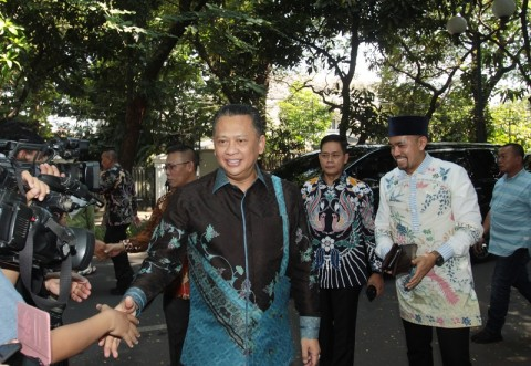 Bamsoet Bantah Minta Restu Presiden Jokowi
