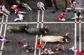 Tiga Orang Terluka di Akhir Festival Banteng Spanyol