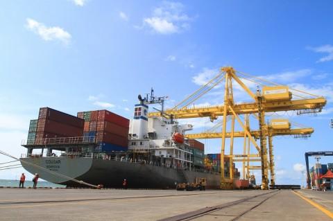 Pelabuhan Tanjung Mas Rugi Rp60 Miliar Akibat Jatuhnya Crane