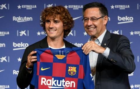 Dituding Curang Soal Transfer Griezmann, Presiden Barcelona Santai