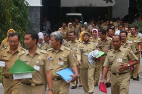 PNS di Jakarta Diklaim Hadir Tepat Waktu