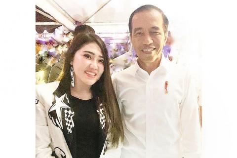 Via Vallen Semangati Presiden Jokowi
