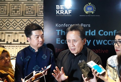 Triawan Munaf Susun Masterplan Bekraf Creative District
