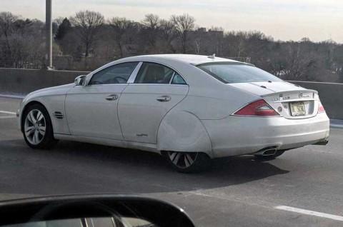 Modifikasi Mercedes-Benz CLS550 Terinspirasi Pagani Zonda HP Barchetta
