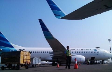 Garuda Resmi Larang Pengambilan Gambar di Pesawat