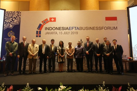 Indonesia, EFTA Countries Urged to Strengthen Economic Ties