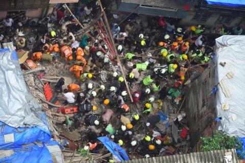 Gedung Roboh di Mumbai, 4 Orang Tewas