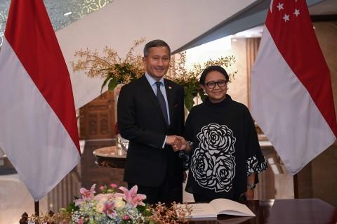 RI-Singapura Perkuat Kerja Sama Bilateral
