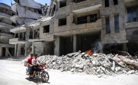 Sembilan Warga Sipil Suriah Tewas dalam Serangan Pemerintah