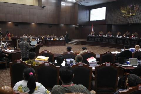 Hakim MK Tegur Kuasa Hukum Gerindra