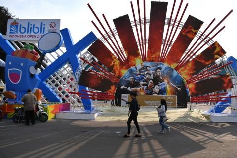 Laris Manis Tiket Hari Pertama Indonesia Open 2019